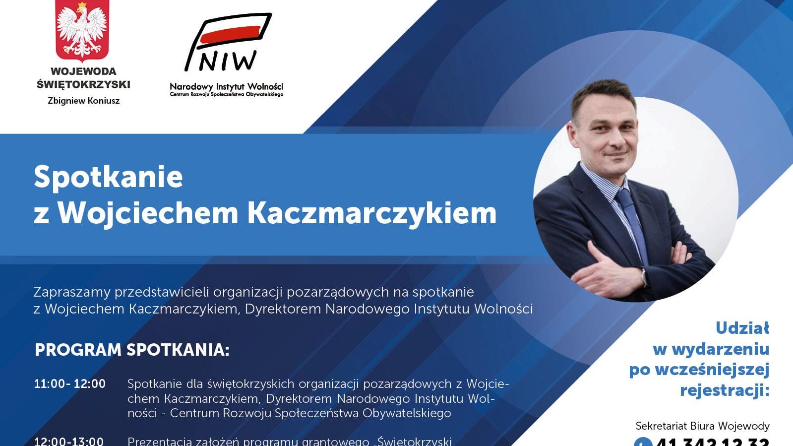 Spotkanie dyrektora NIW-CRSO z przedstawicielami NGO w Kielcach
